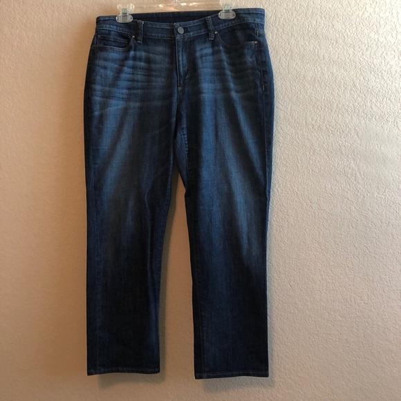 Ann Taylor Denim - Ann Taylor Curvy Crop Ankle Jeans • Sz 12